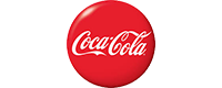 Brand logo for Coke