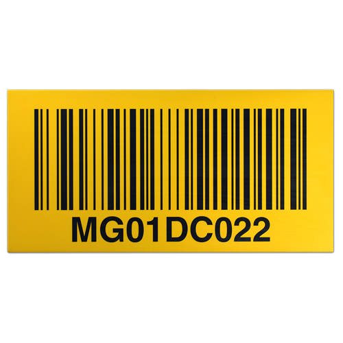 Long Range Barcode Label