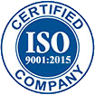 Certificate: ISO Certified