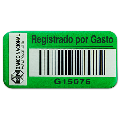 Green Asset Tag