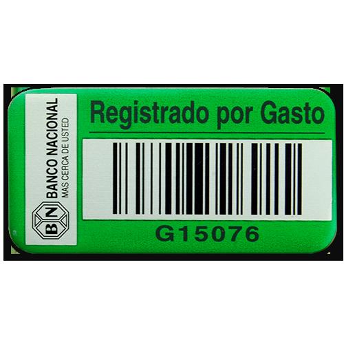 Vinyl Asset Label