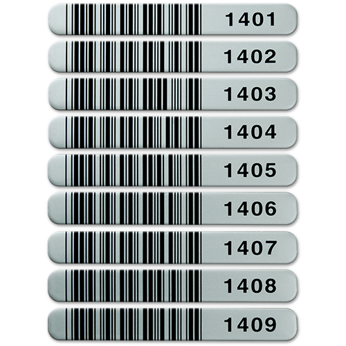 Bleeding Barcode Labels