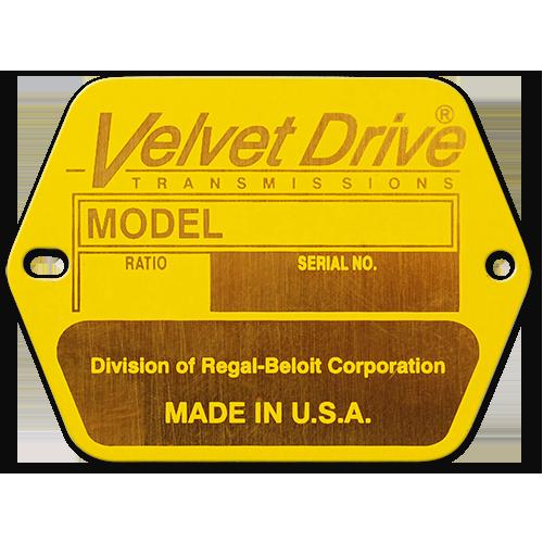 Custom Brass Nameplate