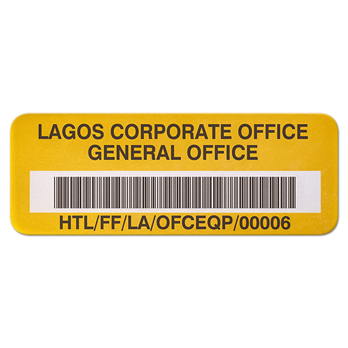 Corporate Asset Tag
