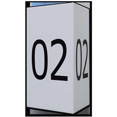 Long-Range Barcode Placard