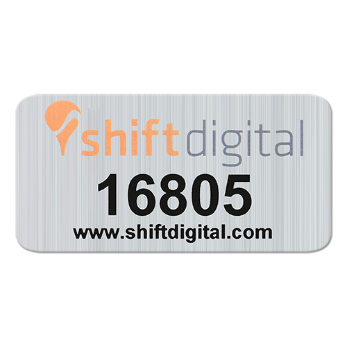 Metalized Polyester Label