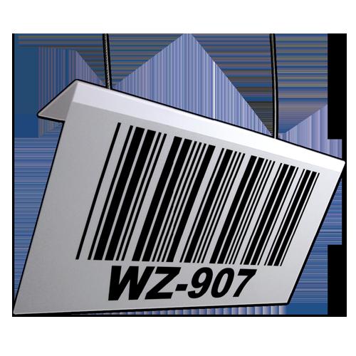 Long Range Barcode Placard