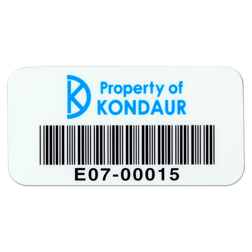 Barcode Property Tag