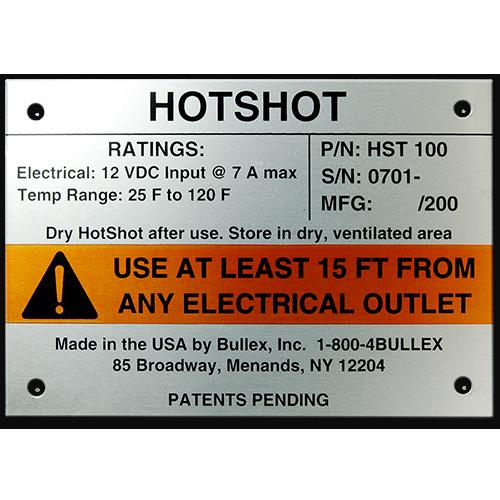 Metal Nameplate Custom