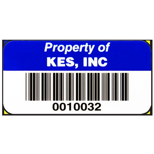 Custom Plastic Barcode Tag