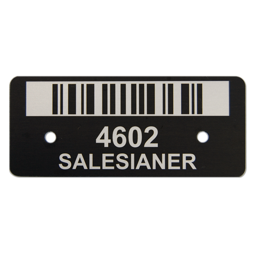 Metal Barcode
