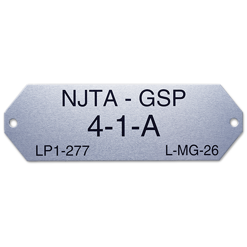 Special Shape Nameplate
