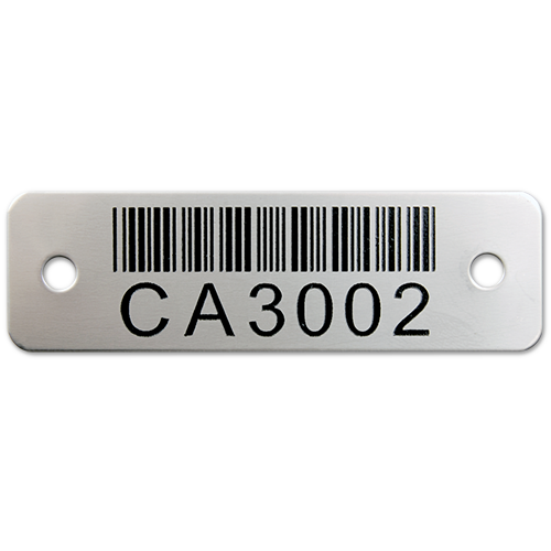 Steel Barcode Tag