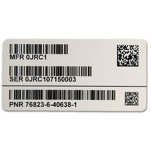 Polyester UID Label