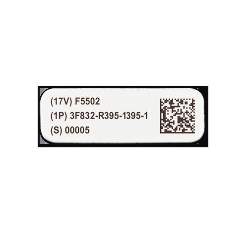 Kapton UID Label