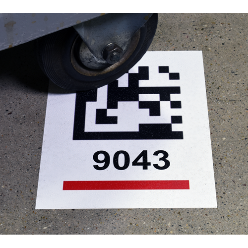 Warehouse Floor Label